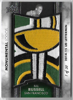 BILL RUSSELL / Monumental Logos - No. ML-BR  (#d 1 of 30)