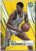 BILL RUSSELL / Spectra Gold - No. 80  (#d 2/10)