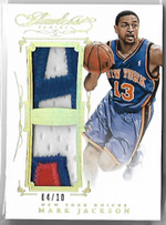 MARK JACKSON / Dual Patch - No. DP-MJ  (#d 4/10)