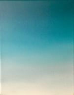 Fade 4, 25 x 20 cm, Öl auf Leinwand, 2015