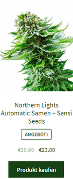 Northern Lights Automatic Samen – Sensi Seeds
