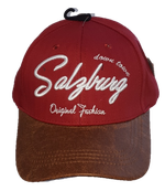 Kappe Salzburg, Original Fashion, weinrot
