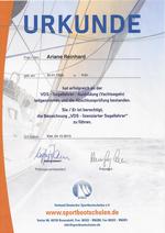 VDS lizensierter Segellehrer (Yacht)