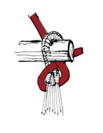 チェアーハンモックの結び方6