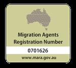 MARA Registered Australian Migration Agent MARN 0701626
