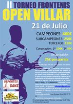 II Torneo Open Villar de Sobrepeña
