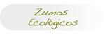 Zumos ecológicos