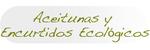 Aceitunas y Encurtidos ecológicos