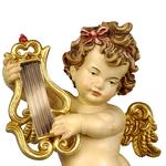 statue angeli in legno