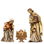 statue per presepe in legno