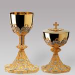 accessori liturgici calici e pissidi