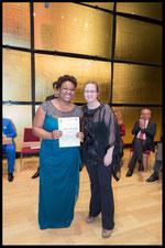 Hilde Zadek Gesangswettbewerb 2015 - Sonderpreis der Medienjury gesponsert von Samantha Farber, RAEHANN BRYCE-DAVIS, MEZZOSOPRAN (Foto: Fayer)