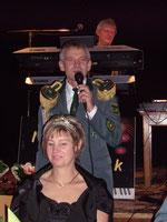 König K.-D. Albrecht und Beate