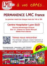 lmc france relais lyon leucemie myeloide chronique JEROME AVIOTTE permanence lyon sud