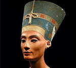 Néfertiti reine d'Akhénaton