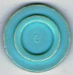 Autoscooter-Chip hellblau mit Zahl 0 ohne Beschriftung