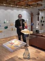 Bruno Pedrosa CCAA Studioglas glaskunst glasgalerie glassart blownglass handblown kunsthandwerk unikat collect köln cologne angewandt kunst sammlung ausstellung design paperweight briefbeschwerer exhibition verresoufflé galerieduverre interiordesign