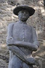 Statue du Père Damien - Photo de Emilie Nisolle