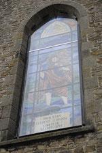 vitrai de Saint Christophe - Grosage - Cliquez sur l'image pour agrandir
