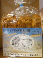 biscottes 7 céréales artisanales dordogne périgord produits locaux