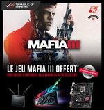 MAFIA III OFFERT sur une sélection de produits ASUS Gaming ici.