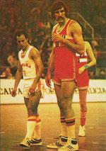 Tachenko, un dos xogadores máis altos do seu tempo.