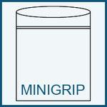 Minigrip Beutel mit Beschriftungsfeld