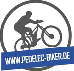 Pedelec Biker e-Mountainbike Blog Logo
