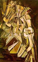 階段を降りる裸体 No.2 (1912)