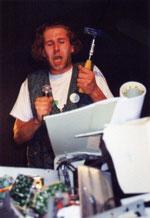 De Toys: DAS ENDE DES COMPUTERZEITALTERS @ Mainzer Literaturbüro 1995