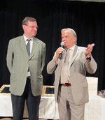 Begrüßung durch Sedlaczek und Kneifl