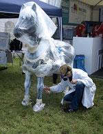 wm pferd skulptur 2011
