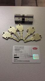 Bei uns im Ladengeschäft oder im Aussendienst: BKS JANUS ( auf Wunsch mit Ziehschutz ) und inkl. 5 Schlüssel in versch. Grössen. Der AOS Schlüsseldienst Hamburg bietet einen TOP Schlüsselnotdienst