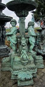 Brunnen Putte - Jugendstil - Prunk