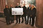 (v.l.n.r.): Sabine Flegel, Frank Buchholz, Markus Schumm, Torsten Spode, Alexander Wenk und Daniela Becker.