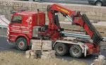 Scania 143H 420 Karaitrans mit PK 52000
