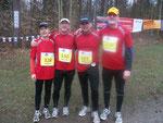 v.l. im Bild: Jutta Kampf, Erich Wölfelschneider, Uwe Kampf, Hans-Peter Picard