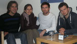 Björn, Isabel, Andreas und Christoph