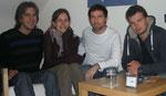 Björn, Isabel, Andreas et Christoph