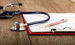 Stethoskop zur Untersuchung