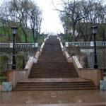 каменная лестница в Таганроге