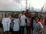 Am Samstag, den 21. Juli 2012, besuchten 9 aktive Schulsanitäter der Beethovenschule mit Martin Lenhart-Höß und Frau König den 8. Schulsanitätstag des JRK Baden auf der Reichenau. L. König