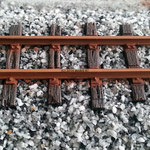 Gleisschotter H0 Granodiorit Klasse I