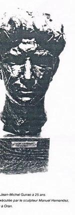 Buste de J.-M. Guirao,par Manuel Hernandez, Oran 1950