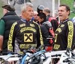 "Trialgarten ""Racingteam"": Joe Wallmann, Sepp Fischer. Image: www.todotrial.com"