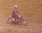 1974 Krankl beim 50 ccm Motocross