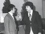 1979 Gründung des MC Laakirchen. Wallmann im Interview mit Hartwig Kamarad.