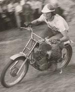 1970 Joe beim Motocross in Fornach auf Zündapp