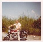 1974: Erstes Motorrad, Honda 250