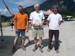A-Cup Kufstein 2013, ältester Teilnehmer: George Greenland, GBR. 81 Jahre.